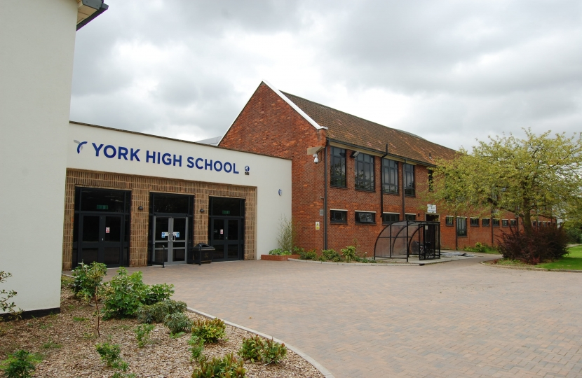 york high school