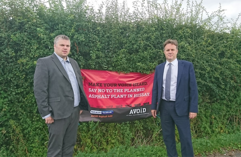 Chris Steward and Julian Sturdy