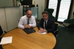 Julian meets with Education Minister Nadhim Zahawi