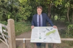 Julian Sturdy at Askham Bog